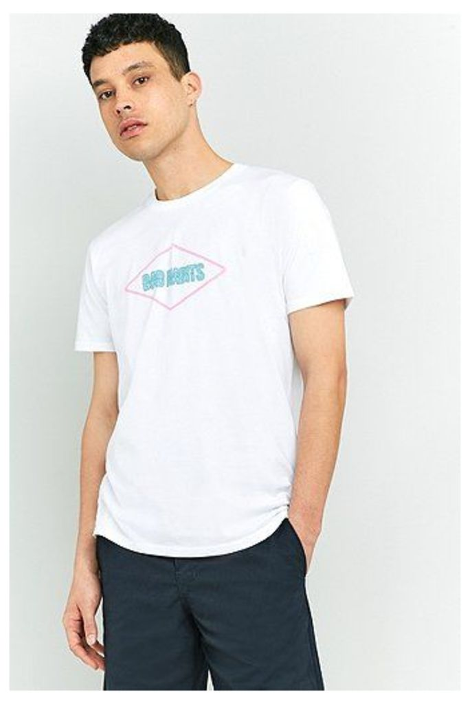 Edwin Bad Habits White T-shirt, White