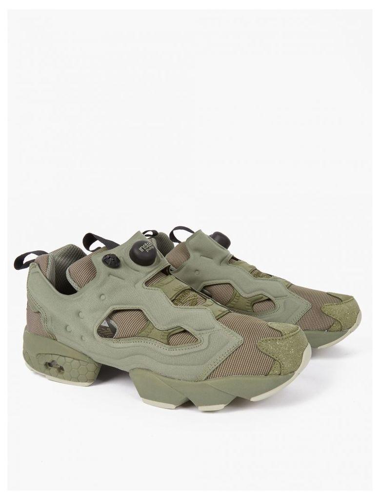 Green Instapump Fury MTP Sneakers