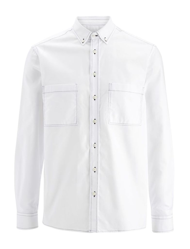 Oxford Shirting Coates Shirts in White