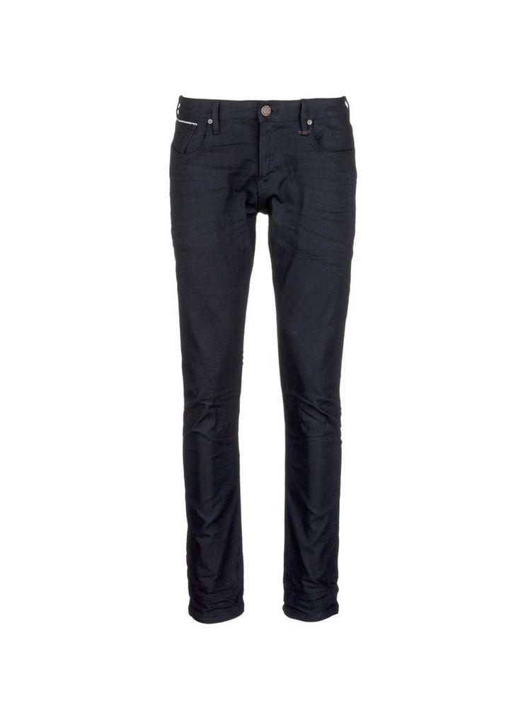 'Lot 22 Tye' slim fit selvedge jeans