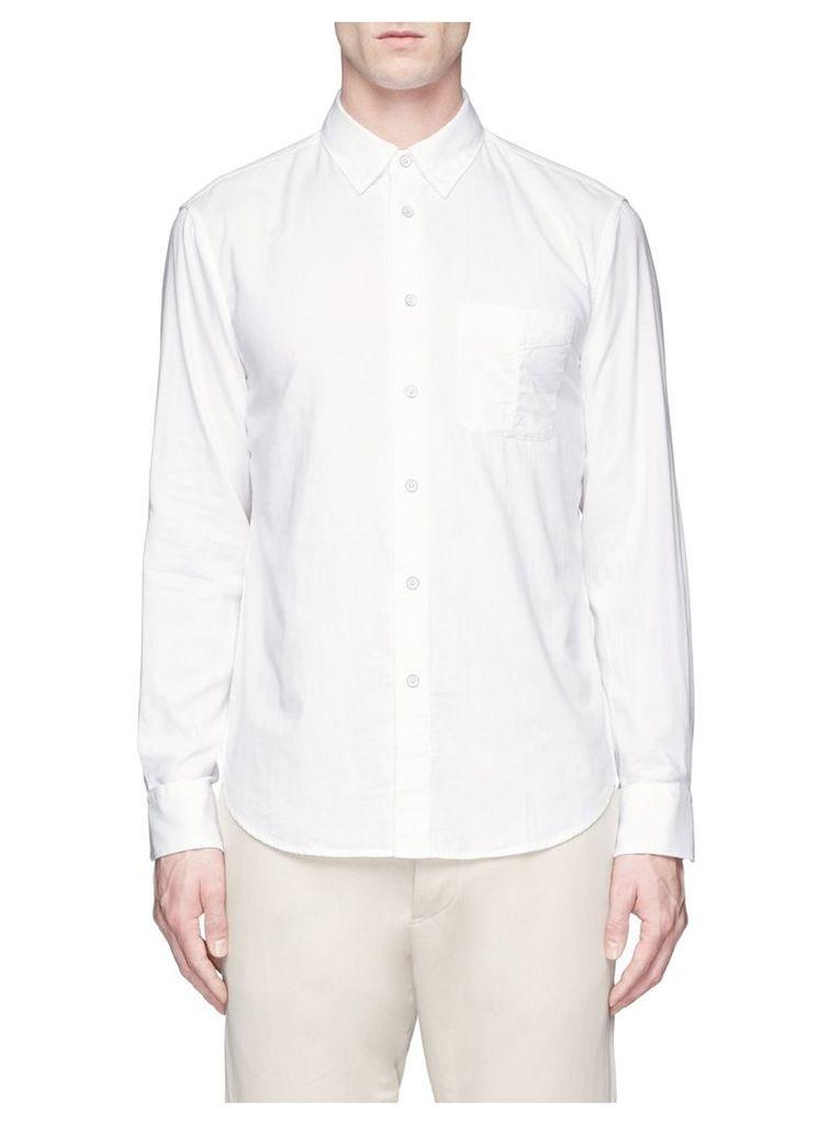 'Standard Issue' cotton beach shirt