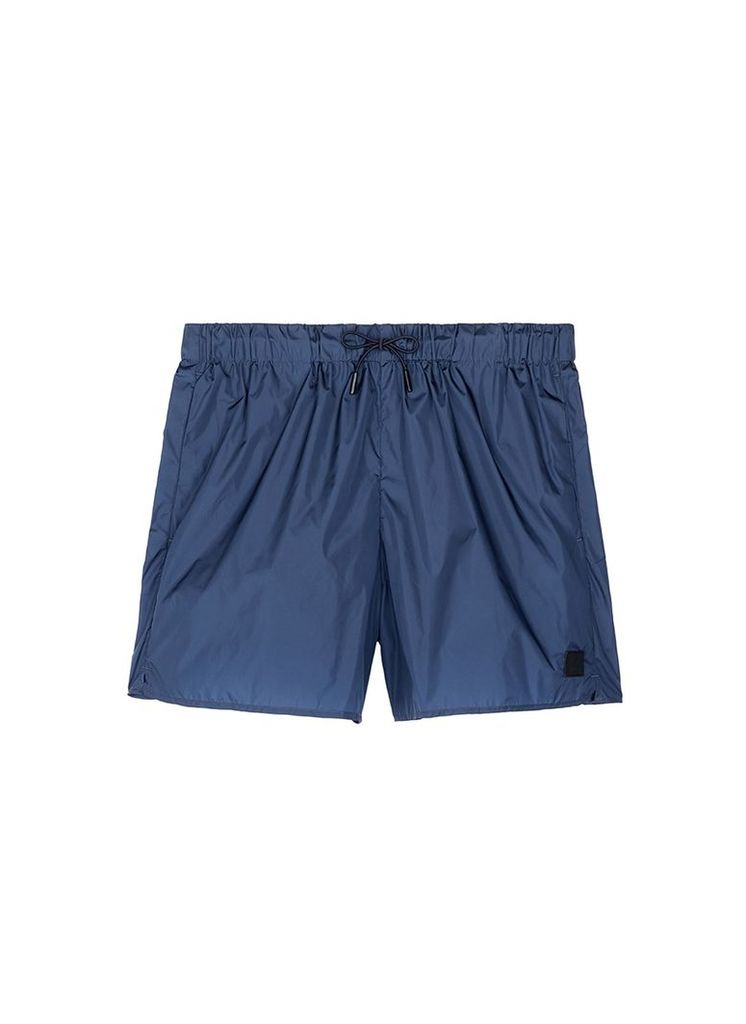 'Perry' face patch swim shorts