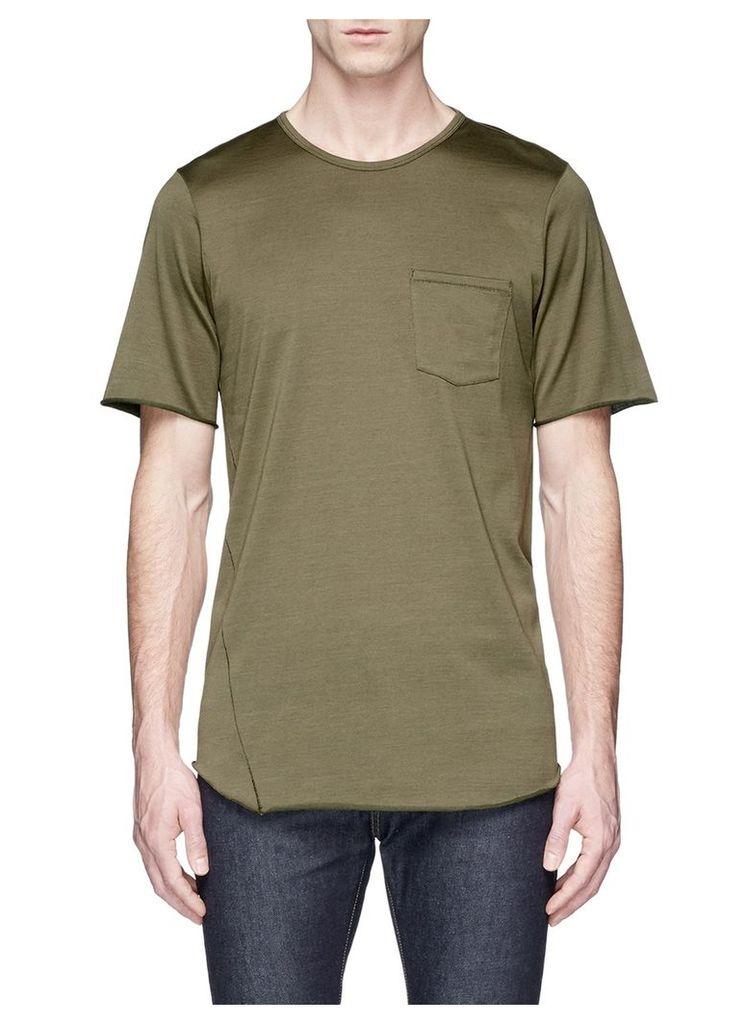 'Combat' mercerised cotton T-shirt