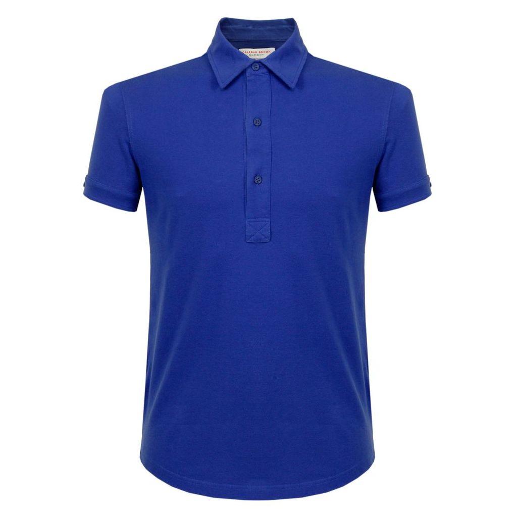 Orlebar Brown Sebastian Mazanine Pique Polo Shirt 264977