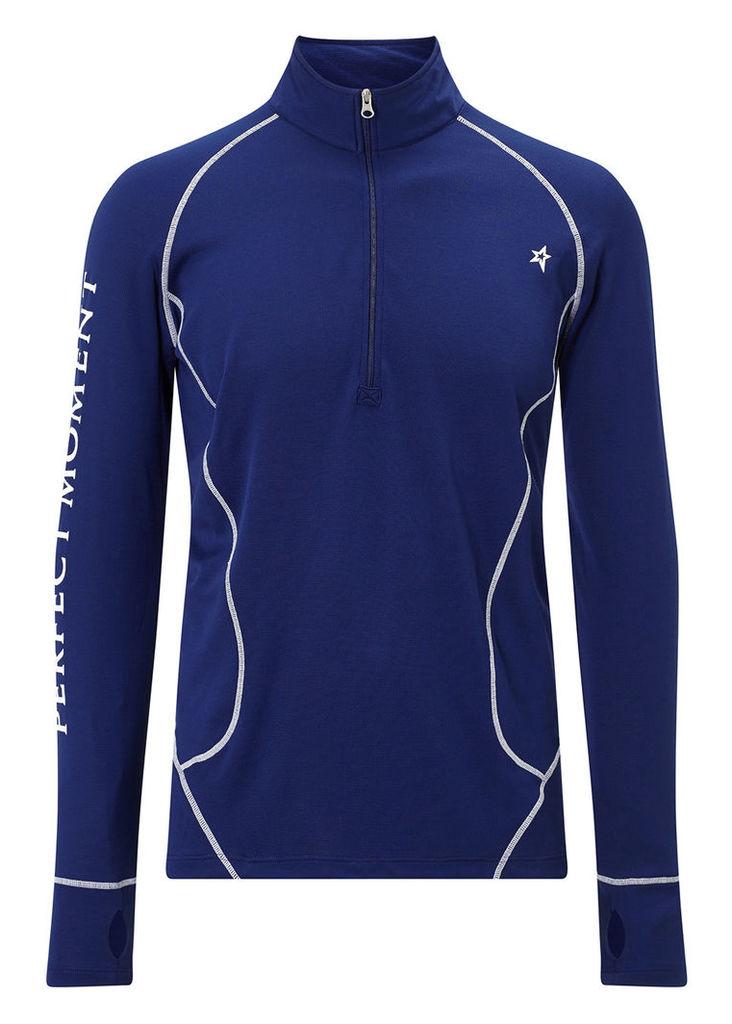 Navy thermal ski top
