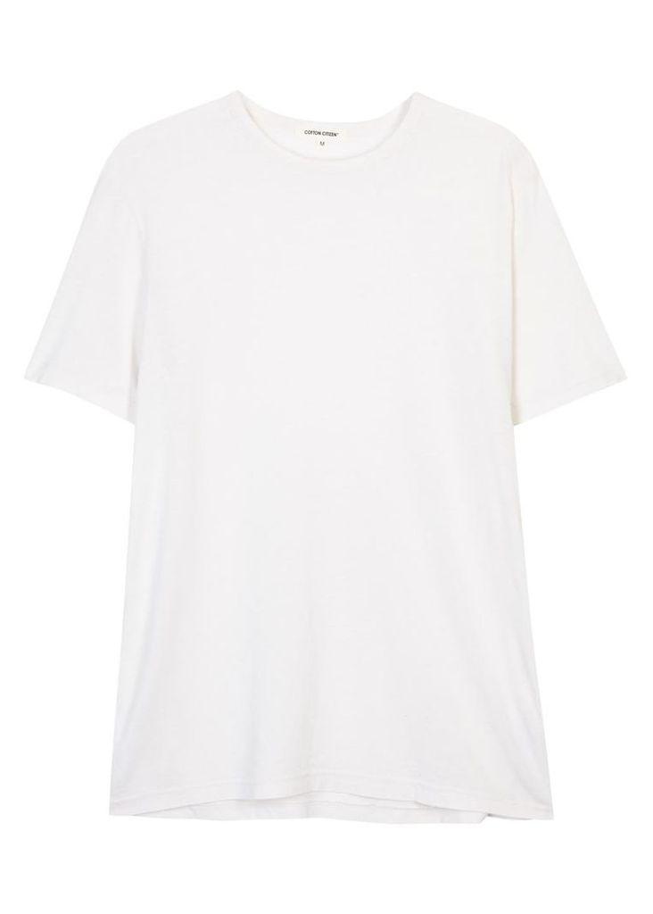 Classic ivory Supima cotton T-shirt