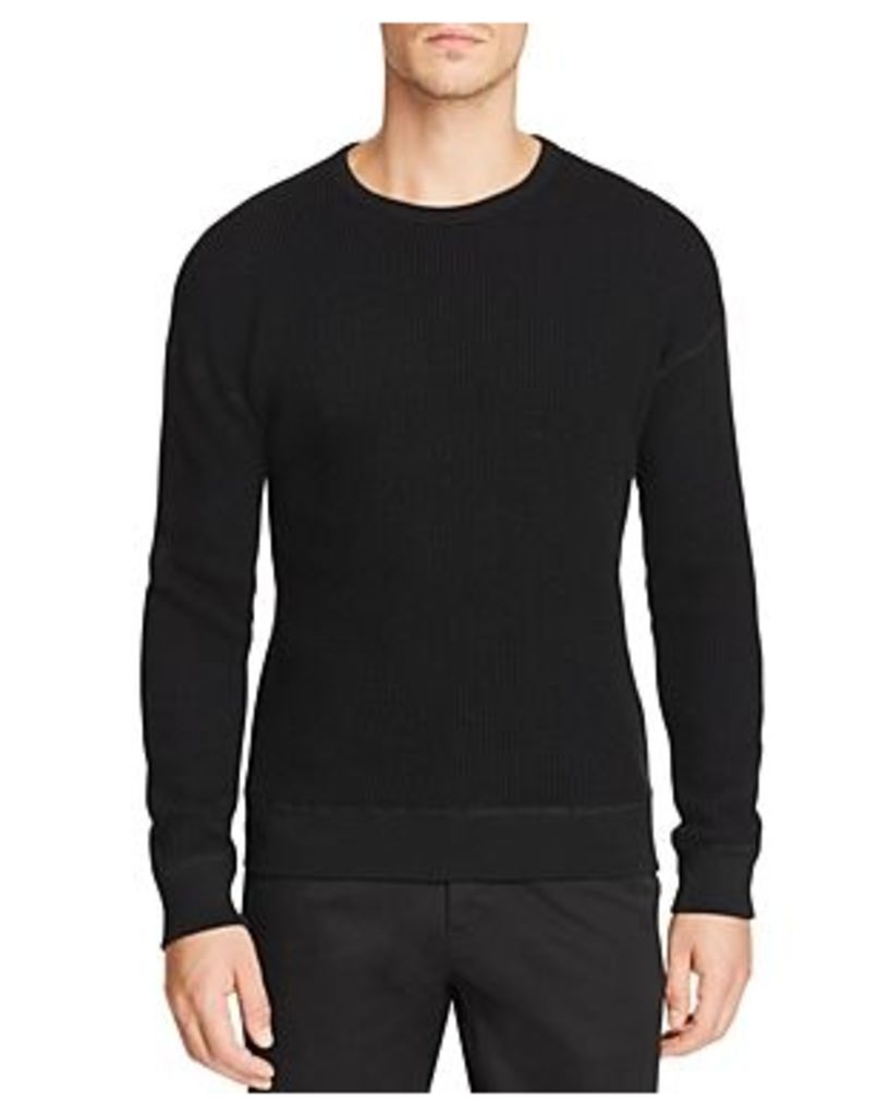 Wings + Horns Textured Crewneck Sweater