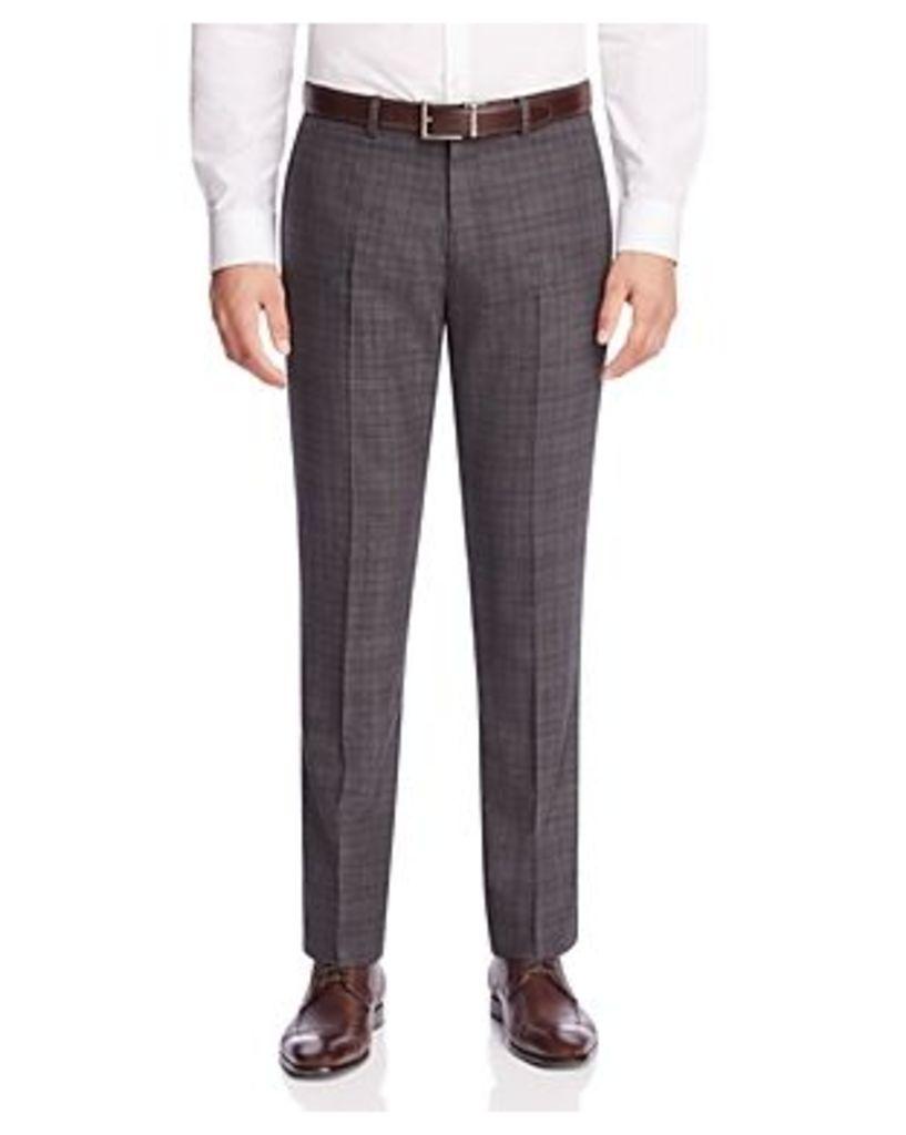 Theory Kenton Plaid Slim Fit Trousers