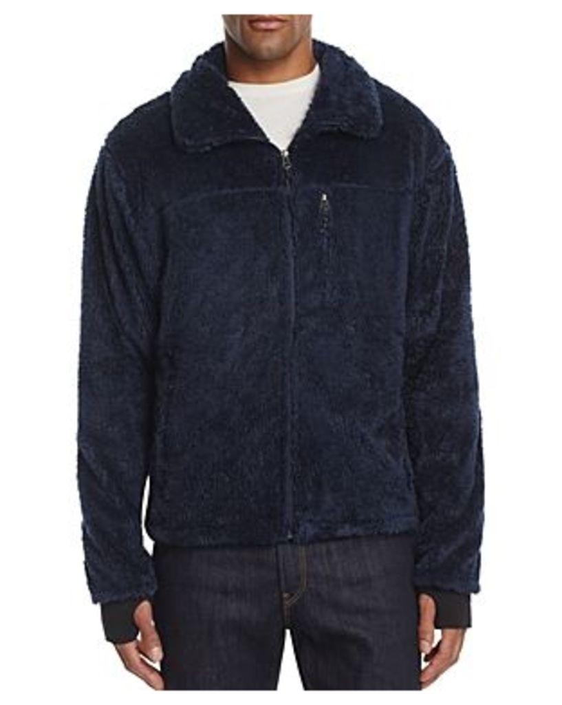 Hawke & Co with Burkman Bros Fleece Zip Front Jacket