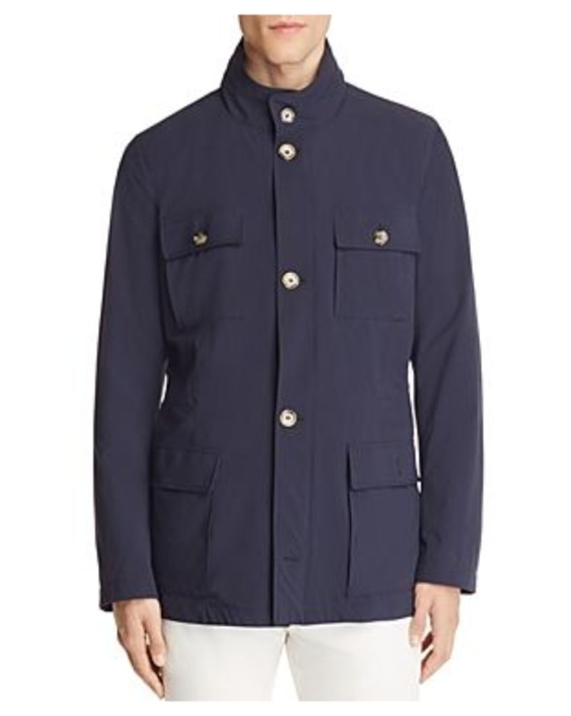 Eleventy Stretch Nylon Hooded Field Jacket - 100% Bloomingdale's Exclusive