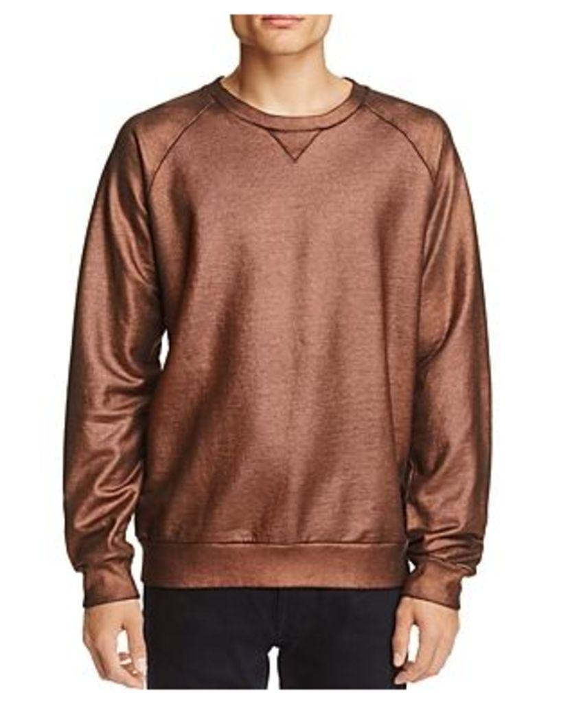 Scotch & Soda Copper Metallic Sweatshirt