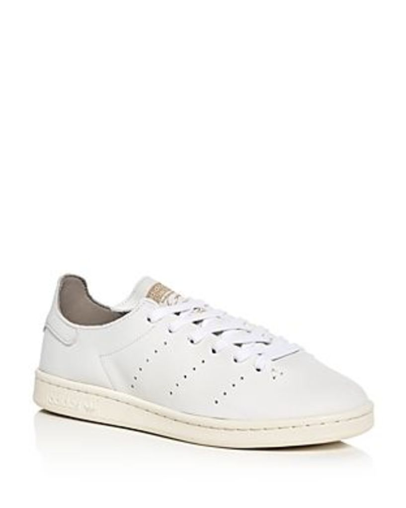 Adidas Men's Stan Smith Lea Sock Lace Up Sneakers