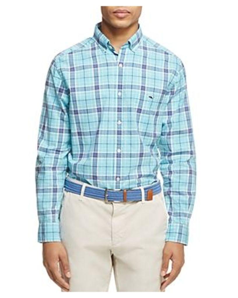 Vineyard Vines Freshwater Plaid Classic Fit Button-Down Shirt
