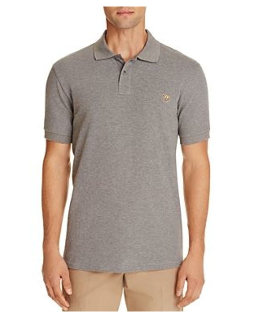 Ps Paul Smith Pique Zebra Slim Fit Polo Shirt