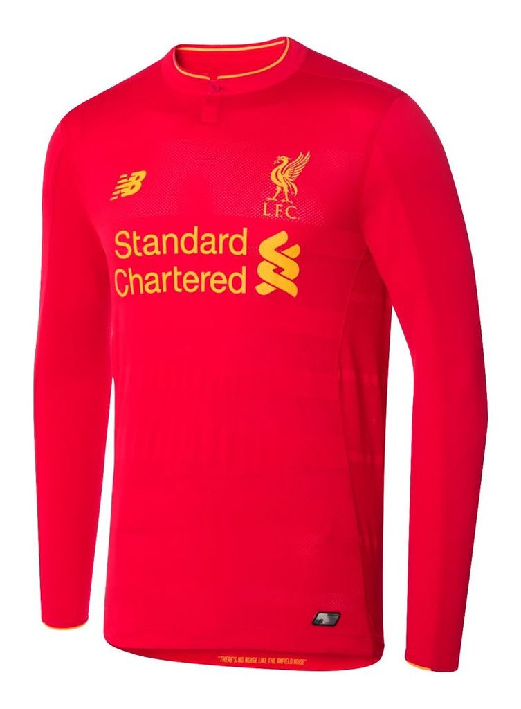 New Balance LFC Mens Home LS Jersey Men's 2016/17 Home Kit MT630002HRD