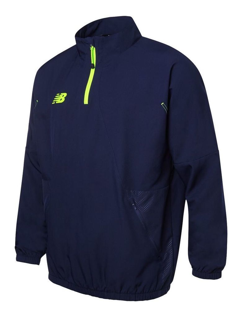 New Balance Mens LS Half Zip Front Men's Accessories & Apparel WSTM501ABY