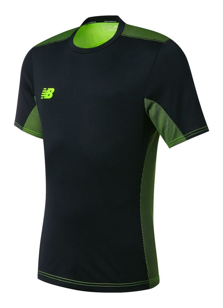 New Balance Tech Training Best SS Jersey Men's Accessories & Apparel WSTM623BK