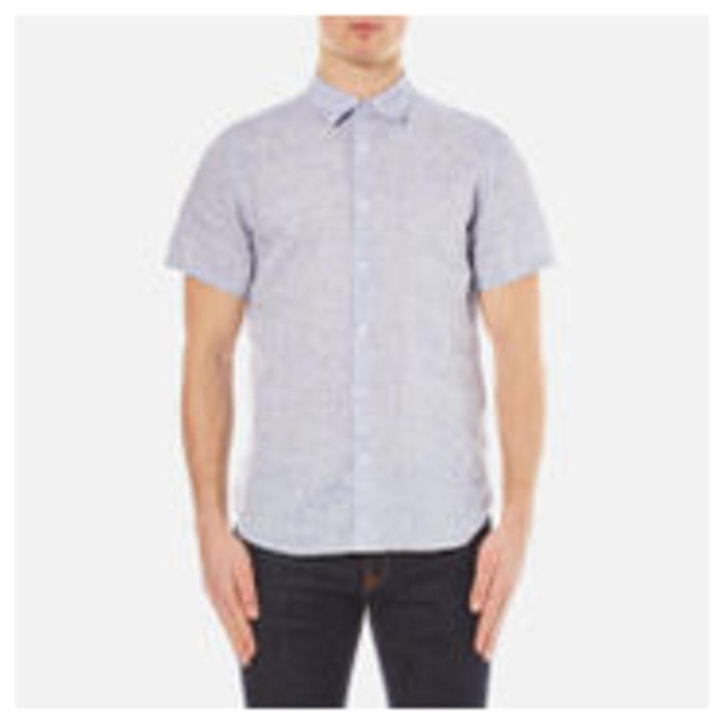Orlebar Brown Men's Meden Short Sleeve Shirt - Navy - XL