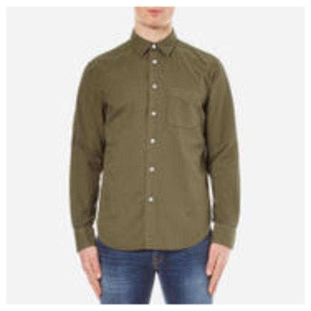 rag & bone Men's Standard Issue Beach Shirt - Dark Olive - XL