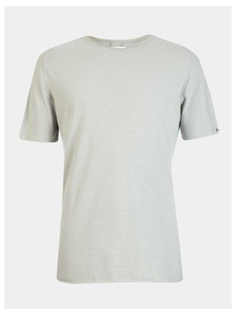 Mens Nowadays Green Open Edge T-Shirt*, Green