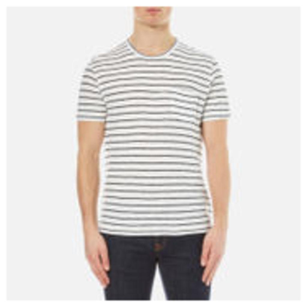 YMC Men's Bad Brains T-Shirt - Ecru/Navy - XL