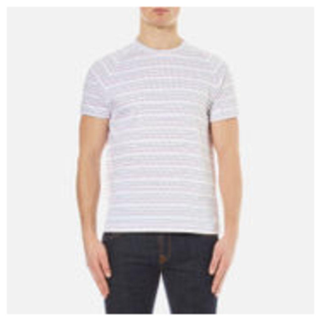 YMC Men's Television Raglan T-Shirt - Multi - L