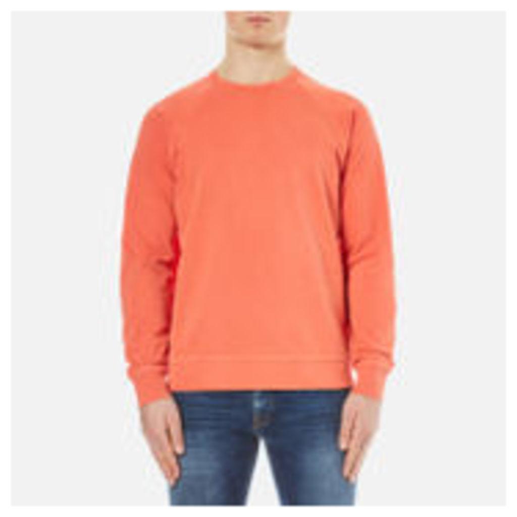 YMC Men's Almost Grown Sweatshirt - Orange - XL