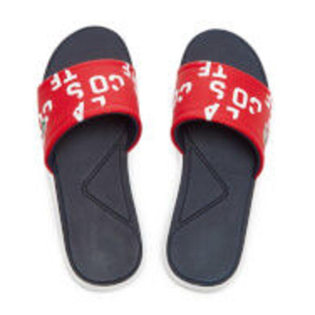 Lacoste Men's L.30 Slide 117 2 Slide Sandals - Red - UK 11
