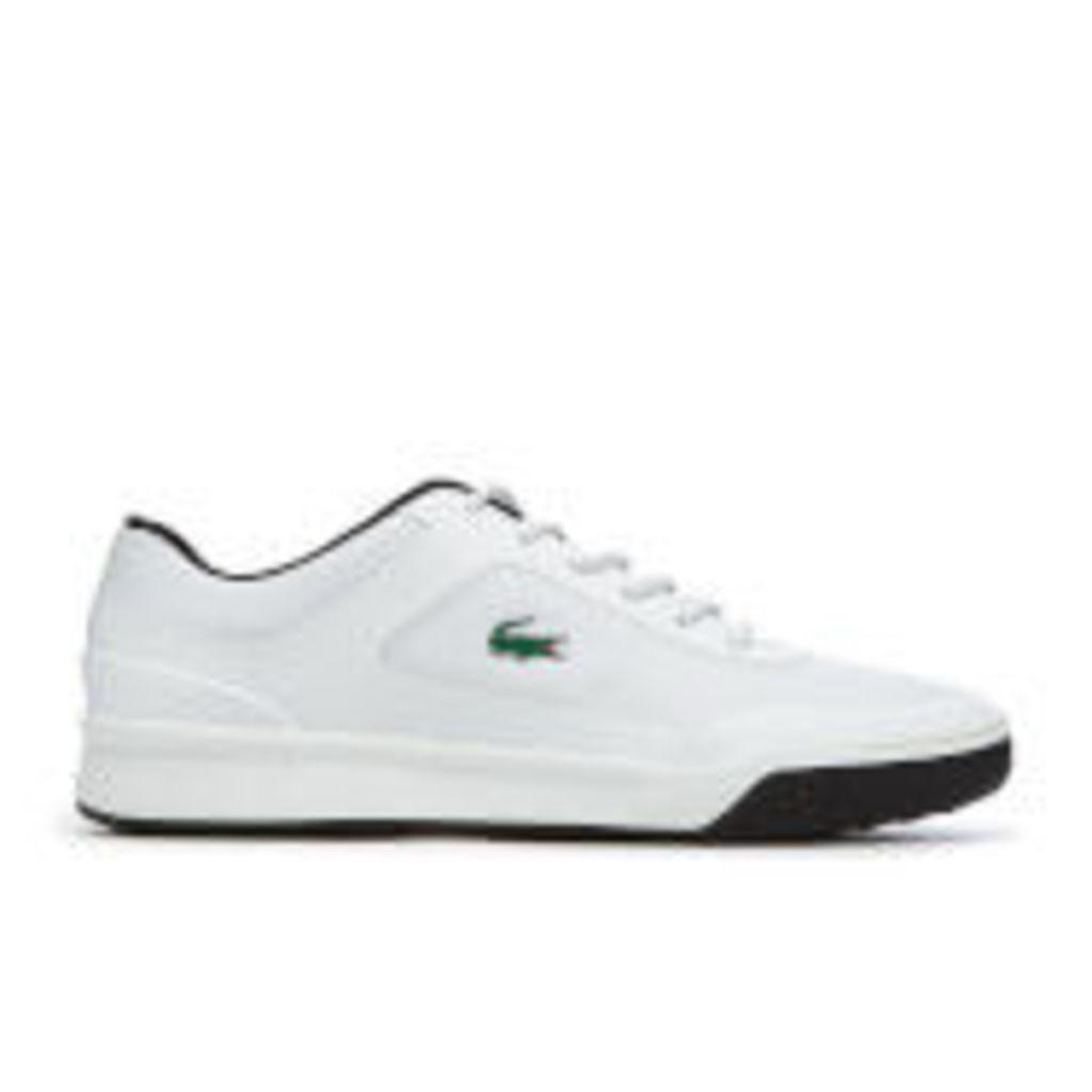 Lacoste Men's Explorateur 117 3 Tennis Cupsole Trainers - White - UK 11