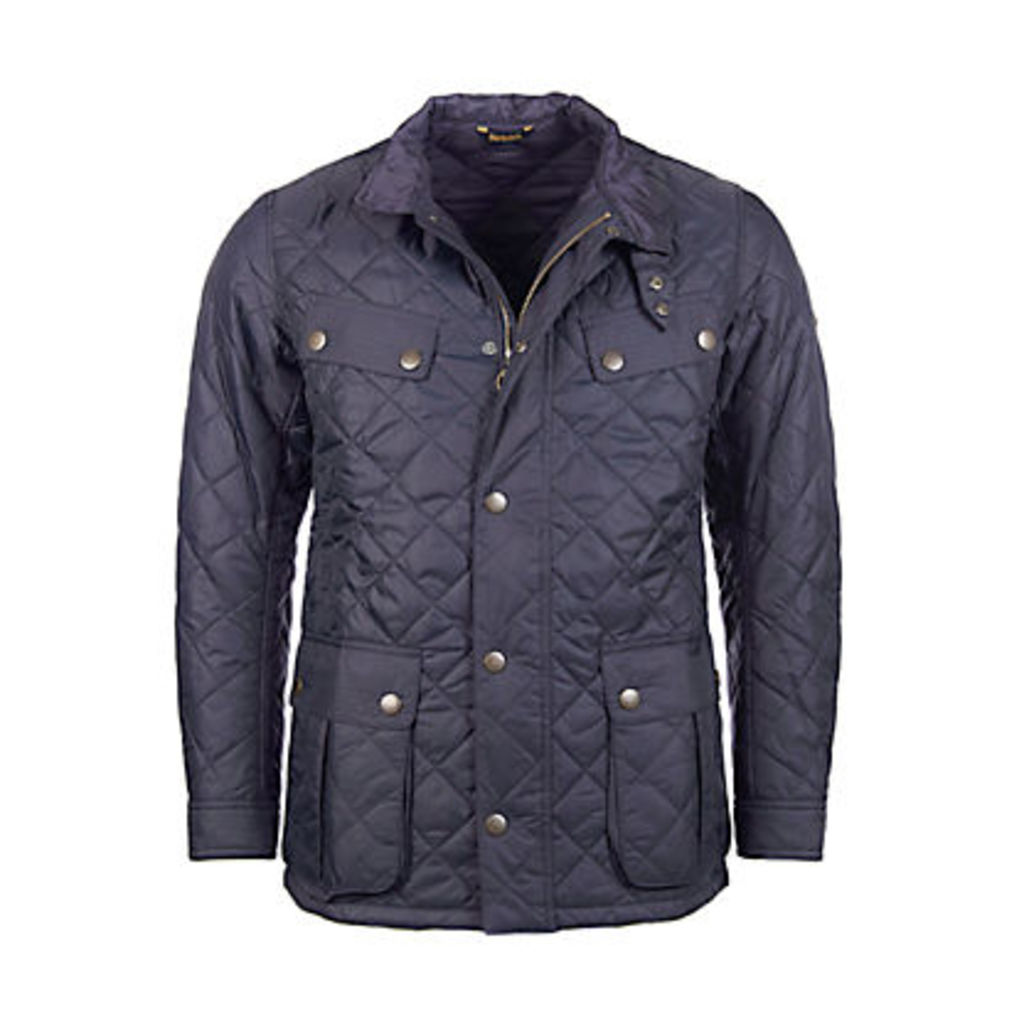 Barbour International Ariel Profile Quilted Jacket, Navy
