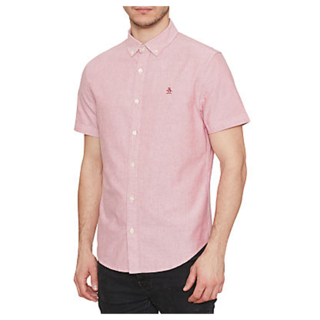 Original Penguin Oxford Short Sleeve Shirt, Samba