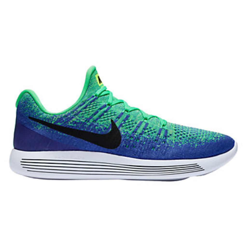 Nike LunarEpic Low Flyknit 2 Men's Running Shoes, Green