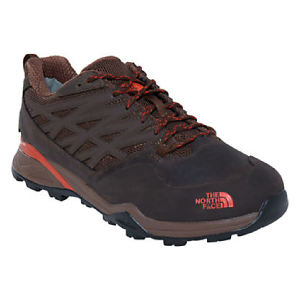 The North Face Hedgehog GTX Men's Waterproof Hiking Boots, Black/Brown