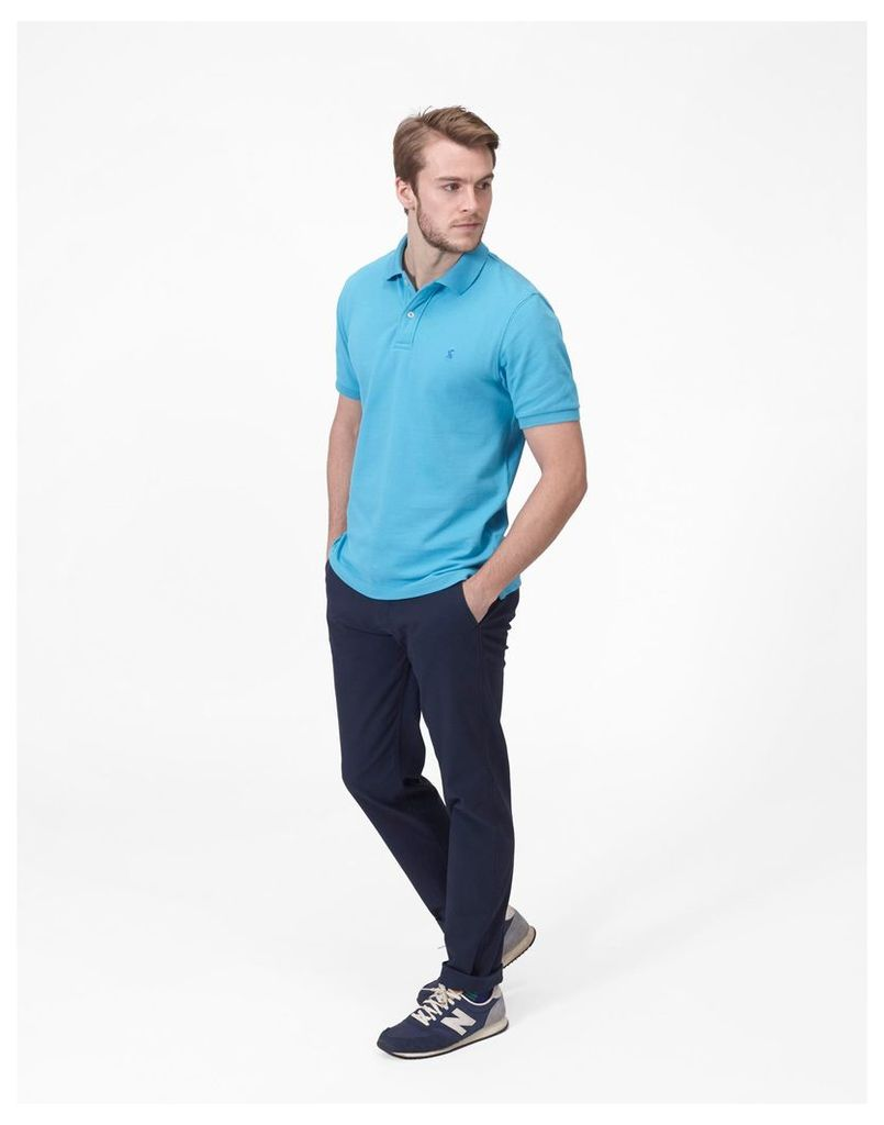 Turquoise Woody Classic Fit Polo Shirt  Size S   Joules UK