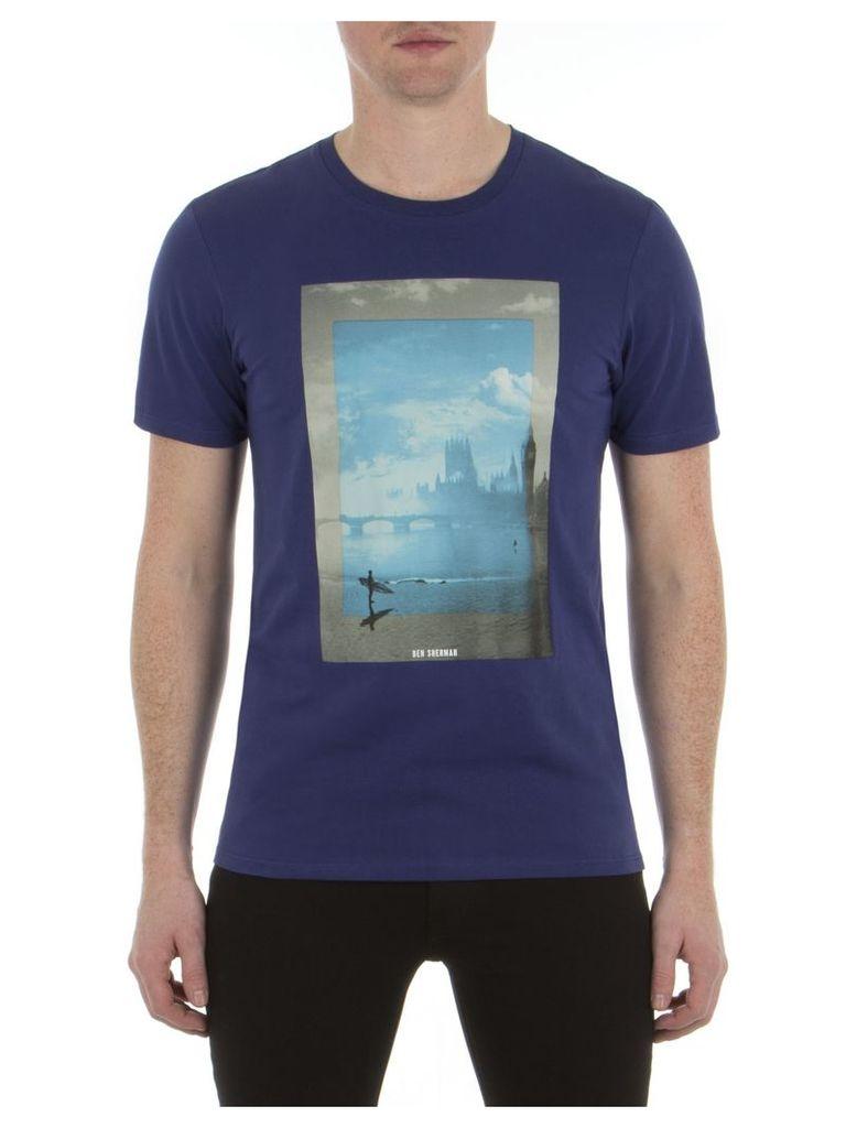 London Surfing T-Shirt XXS EP7 Admiral Blue