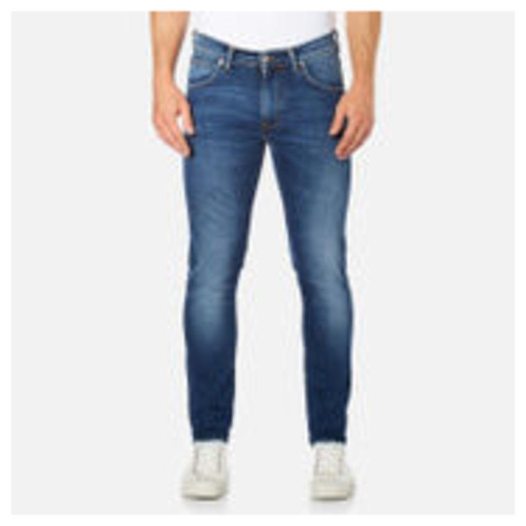 Edwin Men's Ed-85 Slim Tapered Drop Crotch Jeans - Mid Trip Used - W32/L34