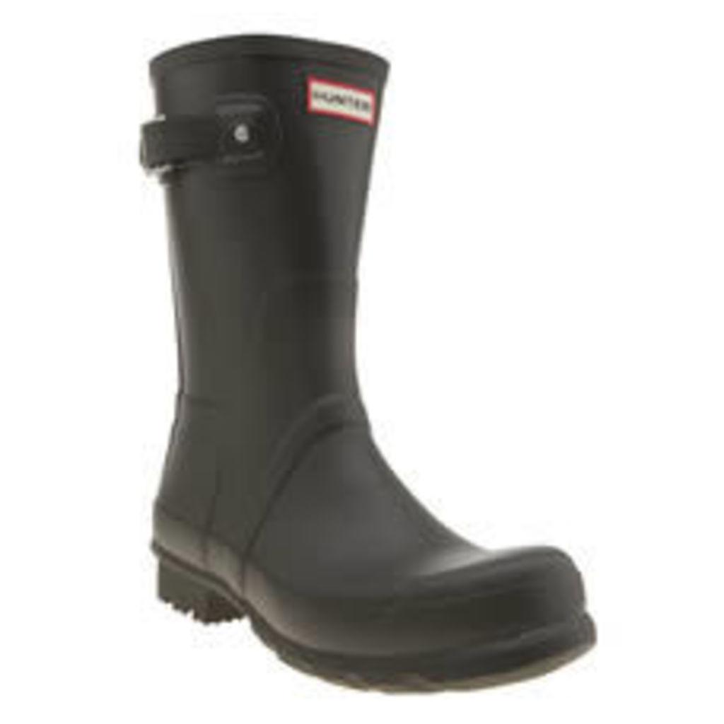 Hunter Dark Green Original Short Boots