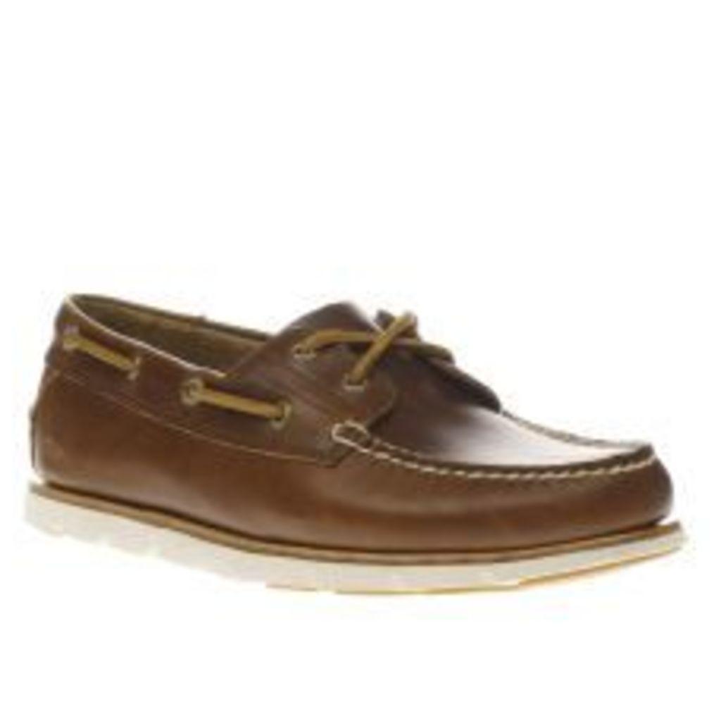 Timberland Brown Tidelands 2 Eye Shoes
