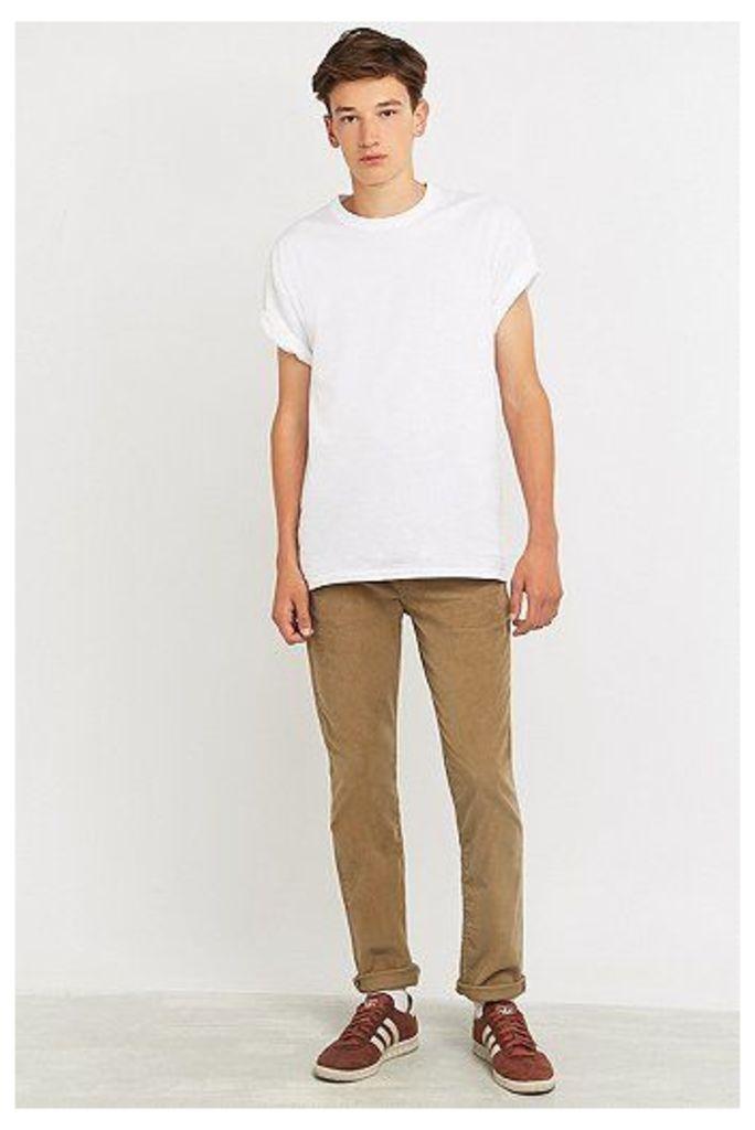 Levi's 511 Sand Corduroy Slim Fit Trousers, Tan