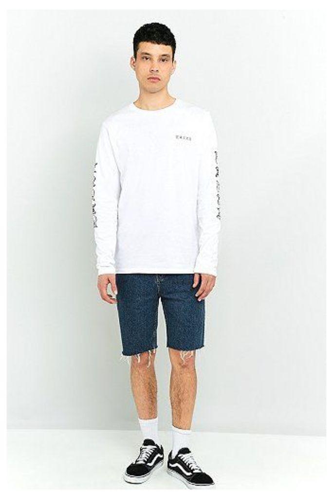 Soulland White Long Sleeve T-shirt, White