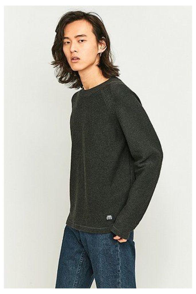 Cheap Monday Jab Charcoal Knit Jumper, Dark Grey