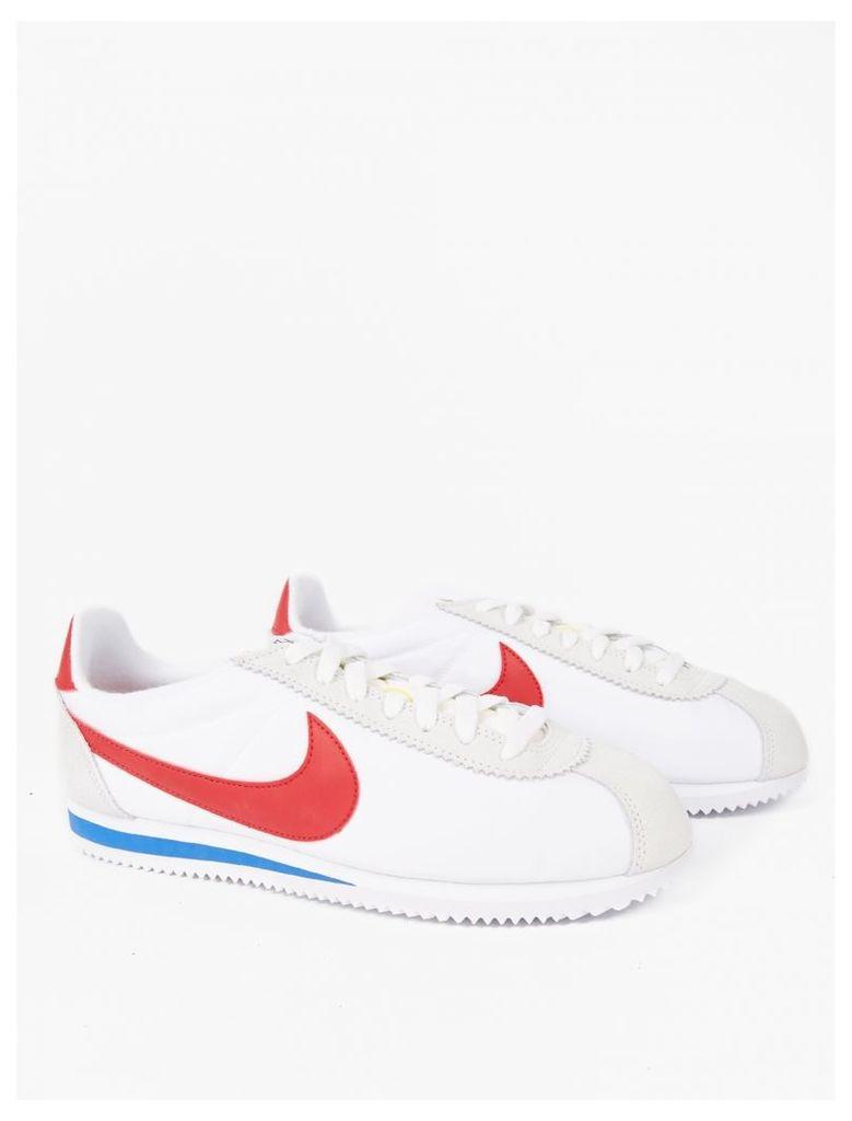 White Classic Cortez Sneakers