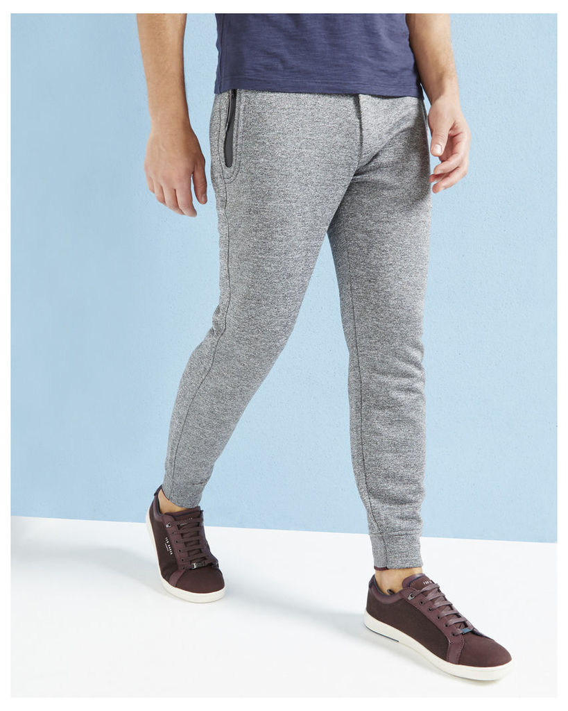 Ted Baker Jersey cuffed trousers Charcoal