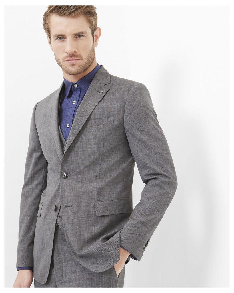 Ted Baker Debonair modern fit wool jacket Grey