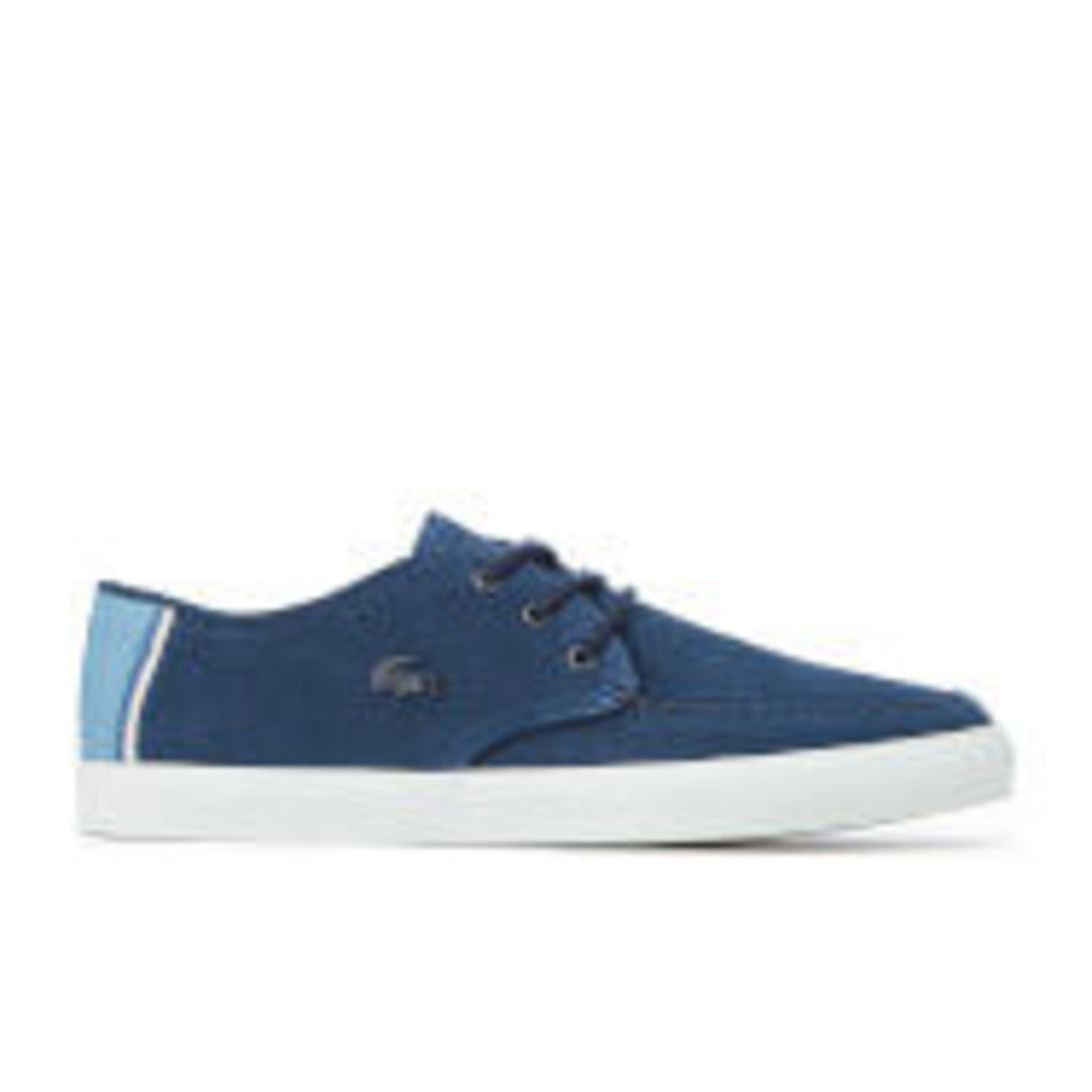 Lacoste Men's Sevrin 316 1 Suede Boat Shoes - Navy - UK 11