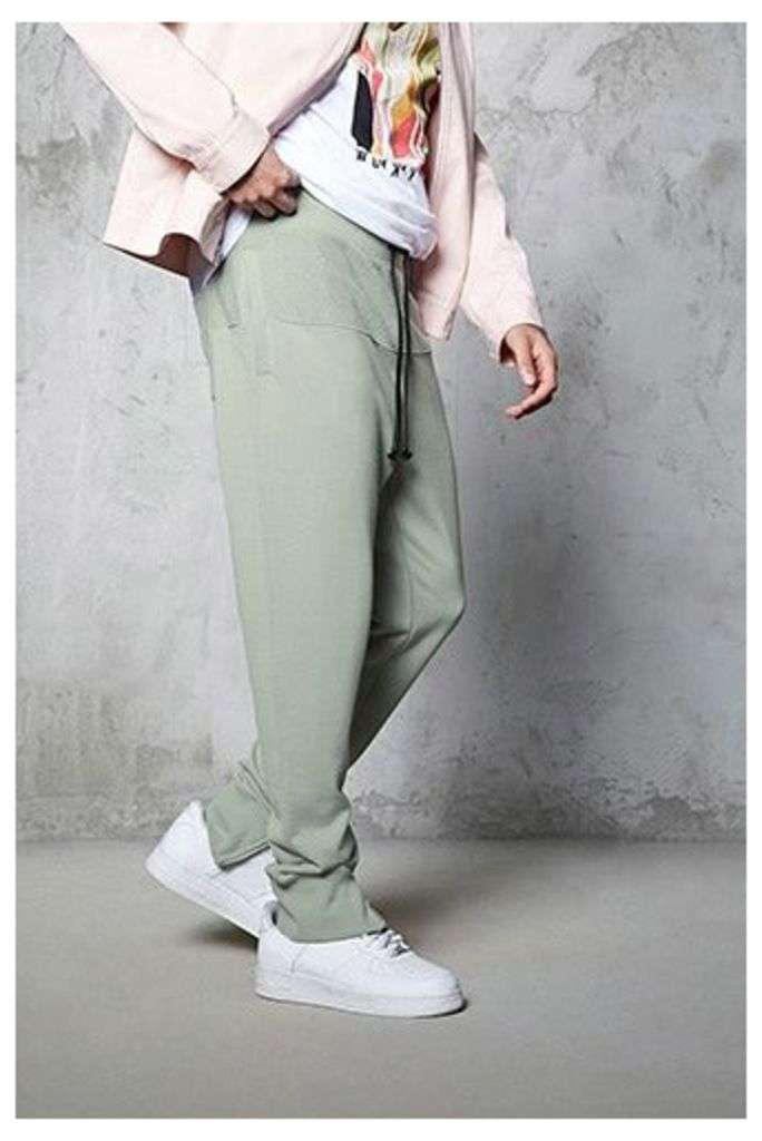 French Terry Zipped Joggers