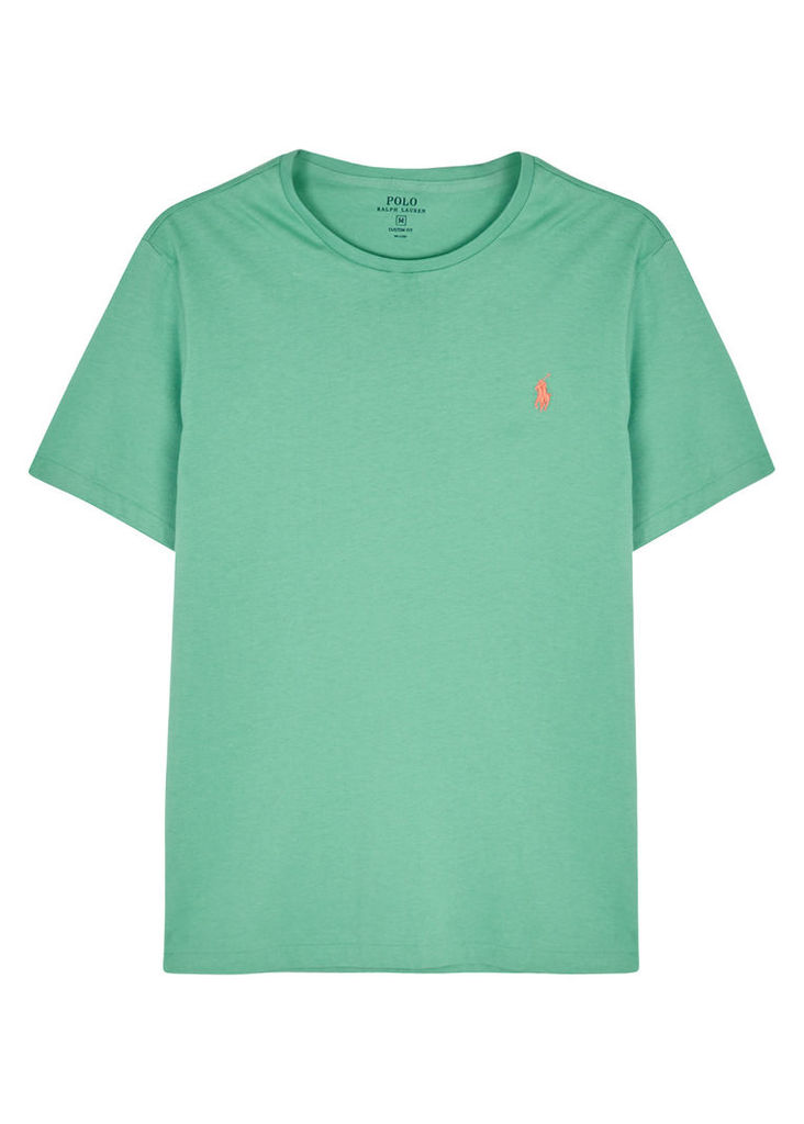 Mint custom cotton T-shirt