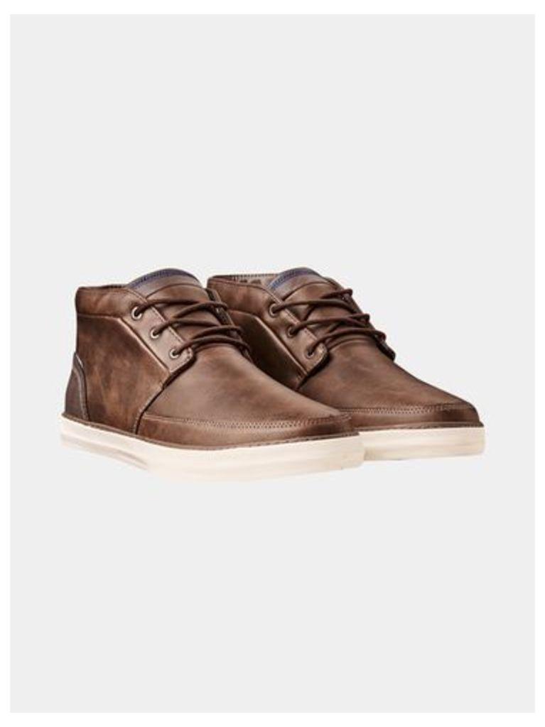 Mens Grey Chukka Boots, Grey
