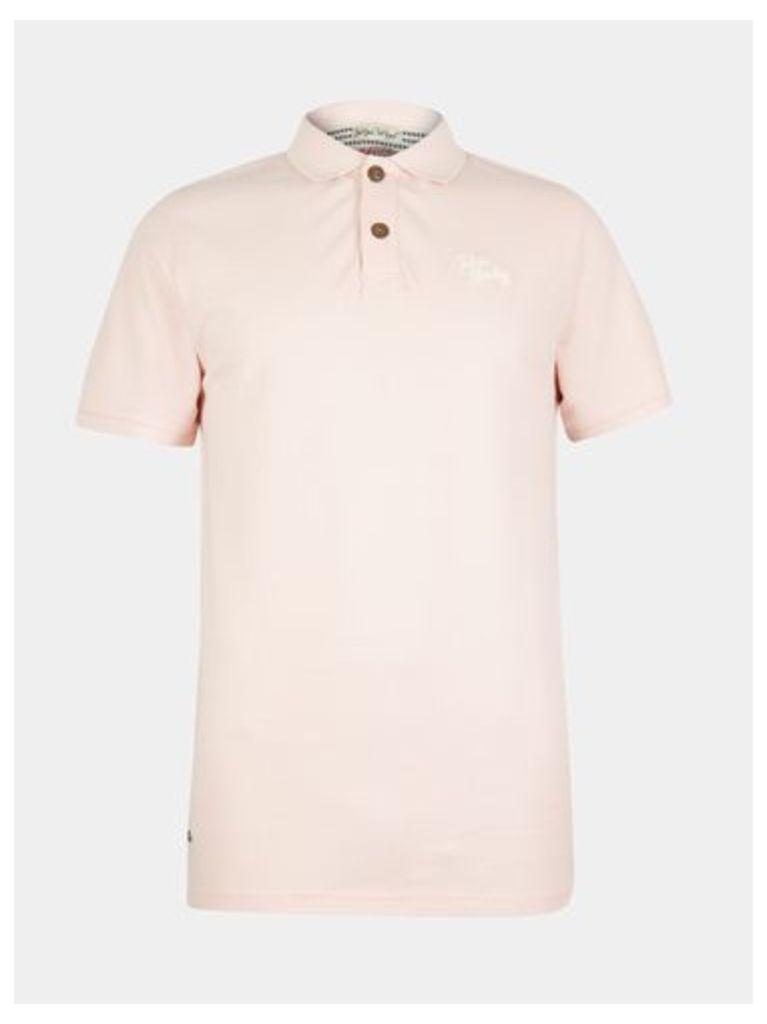 Mens Tokyo Laundry Florenzi Pink Polo Shirt*, PINK