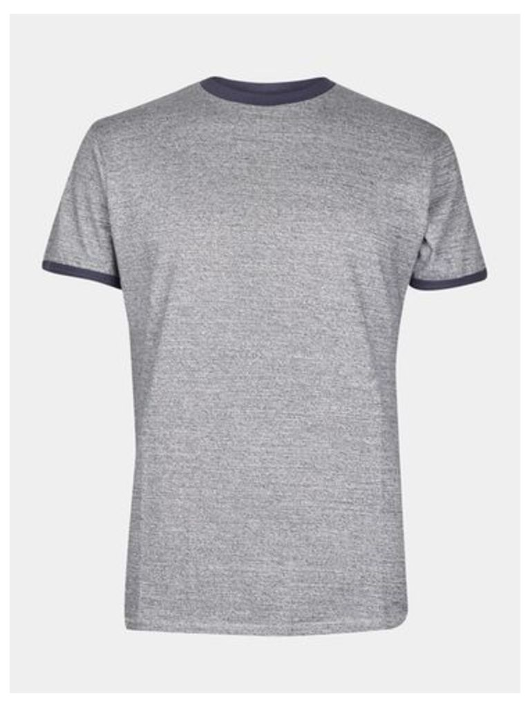 Mens Threadbare Denim Look T-Shirt*, DENIM BLUE